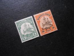 D.R. 14/18  5/30Pf**MNH - Deutsche Kolonien (Marshall-Inseln) 1901 - Mi 4,70 € - Colonie: Marshall