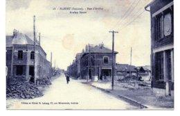 Cartes Postale Albert 80 (somm ) Rue D'aveluy - Albert