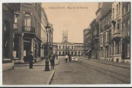 TIRLEMONT: Rue De La Station (Tienen) 1921 - Tienen