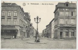 TIRLEMONT: Rue De La Station (Tienen) - Tienen