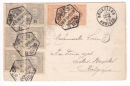 180/30 - PORTUGAL - Superbe Carte-Vue De PORTO TB Affranchissement TP Don Carlos PORTO 1903 Vers Bruxelles - Lettres & Documents