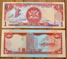 2006 Trinidad And Tobago 1 Dollars P-46 UNC BANKNOTE CURRENCY - Trinidad En Tobago