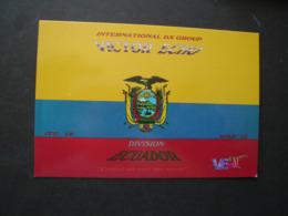 ECUADOR POSTCARDS QSL DX RADIO GROUP VICTOR ECHO 2 SCA - Radio