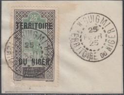 Niger - N'Guigmi / Territoire Du Niger Sur N° 8 (YT) N° 8 (AM). Oblitération De 1925. - Usados