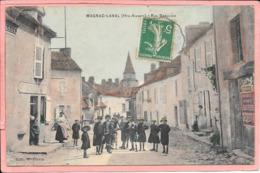 Magnac-Laval Rue Beaulieu Colorisée Parfait état - France