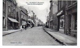 Cartes Postale Albert 80 (somme )   Rue De Birmingham - Albert
