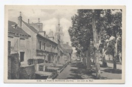 72 - La FERTE BERNARD -- Un Coin Du Mail--1939 --RECTO/VERSO - B70 - La Ferte Bernard