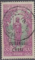 Oubangui-Chari - N° 34 (YT) N° 34 (AM) Oblitéré. - Ubangi (1915-1936)