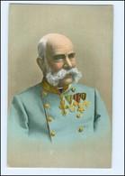 Y10266/ Kaiser Franz Josef Mit Ehrenzeichen AK 1908  - Case Reali