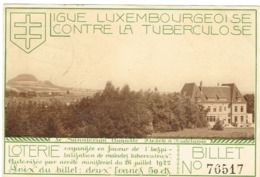 Dudelange Ligue Luxembourgeoise Contre La Tuberculose. - Dudelange