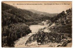 RETOURNAC-SUR-LOIRE - Les Gorges De L'Ance Et Le Barrage - Retournac