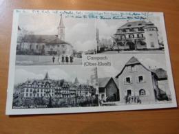 CPA. Guerre 39-45. Carspach Gauschule NSDAP. Epicerie Walch. Ecole De Garçons - France