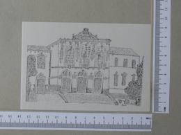 PORTUGAL - CAMARA MUNICIPAL DE LEIRIA -  ESCOLA BASICA D. DINIS - LEIRIA -   2 SCANS    - (Nº31316) - Leiria