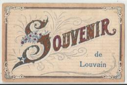 Souvenir De ... LOUVAIN (Leuven) - 1907 - Leuven