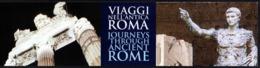 ITALIA 2019 - SEGNALIBRO / BOOKMARK - PIERO ANGELA: VIAGGI NELL'ANTICA ROMA - 2 STORIE E 2 PERCORSI - Segnalibri