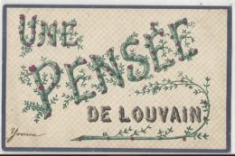 Une Pensée De ... LOUVAIN (Leuven) - 1907 - Leuven