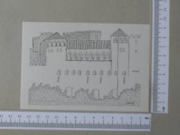 PORTUGAL - O CASTELO DE LEIRIA -  ESCOLA BASICA D. DINIS - LEIRIA -   2 SCANS    - (Nº31318) - Leiria