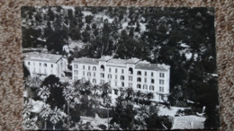 CPSM AJACCIO CORSE LE GRAND HOTEL ET CONTINENTAL   EN AVION AU DESSUS DE LAPIE 23 - Ajaccio