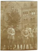 Foto/Photo. Militaria. Militaires Avec Décorations.  A Situer. - Krieg, Militär