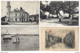FRANCE - Lot De 118 Cpa Toutes Régions - Ansichtskarten