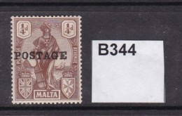 Malta 1925 ¼d (MM) - Malta (...-1964)