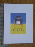 Carte Parfumée - CHANEL -  Hommage D'Andy Warhol à N°5 - Perfume Cards