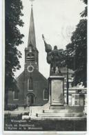 Wijnegem - Wyneghem - Kerk En Standbeeld - L'Eglise Et Le Monument - 1947 - Wijnegem