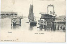 Boom - Passage Du Bâteau - Nels Serie 52 No 10 - 1905 - Boom