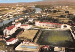 BOURG-de-PEAGE - Vue Aérienne Du Parc Des Sports Et L'Isère - Piscine - Stade - Autres Communes