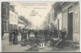 LOUVAIN (Leuven) - Le Cataclysme à Louvain Du 14 Mai 1906 - Porte De Tervueren - Brèche Faite Par Les Eaux 1908 - Leuven