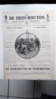 Ancienne Pub Automobile  De Dion Bouton Journal Industriel , Puteaux Seine ( Grand Format) - Pubblicitari