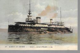"""TRES BELLE CPA CUIRASSé D'ESCADRE """"LE CARNOT"""" - Warships"""