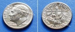 UNITED STATES USA 10 Cents (ONE DIME) 1996 D - ROOSEVELT - Bondsuitgaven