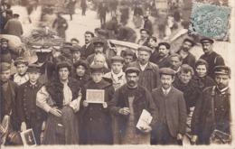 CARTE PHOTO - à Identifier - Marché - Placier - (carte Guillemmet Paris) 322 - Ansichtskarten