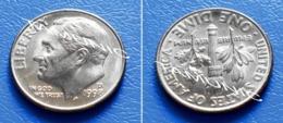 UNITED STATES USA 10 Cents (ONE DIME) 1998 D - ROOSEVELT - Bondsuitgaven