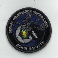 PATCH ECUSSON ORIGINAL MAYOTTE GENDARMERIE - Police & Gendarmerie
