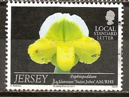Jersey 2011 Fleur Flower Obl - Jersey