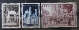 BELGIE  1952   Nr. 876 - 878    Spoor Van Scharnier *     CW  20,00 - Belgique