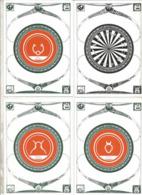 Cp, Astrologie , Les Signes Du Zodiaques , Illustrateur Cyb , Tirage 150 Ex. ,1986 , Vierges, LOT DE 13 CARTES POSTALES - Astrology