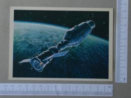 RUSSIA - SPACE -  TRANSPORT -   2 SCANS    - (Nº31353) - Espacio
