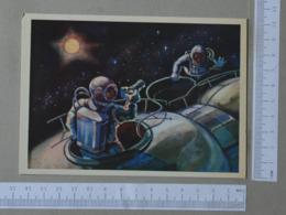 RUSSIA - SPACE -  TRANSPORT -   2 SCANS    - (Nº31356) - Raumfahrt