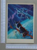RUSSIA - SPACE -  TRANSPORT -   2 SCANS    - (Nº31358) - Espacio