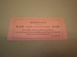 Norwegen 1968 Markenheftchen MH 567 Postfrisch MNH 6,50 Kr Booklet Norge - Markenheftchen