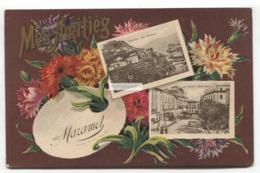 Mes Amities De Mazamet (81) - CPA, Old Multiview Postcard - Mazamet