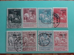 BELGIO 1911 - Charleroi Nn. 100/07 Nuovi */timbrati + Spese Postali - 1910-1911 Caritas