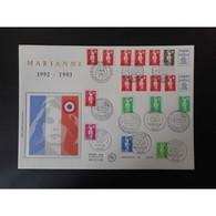 FDC Grand Format - Enveloppe Premier Jour De 1993 - FDC