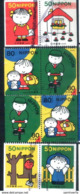Coil - From Booklet Pane - Japan 2002 - Letter Day - From Booklet Pane - Used Stamps