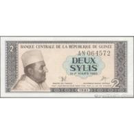TWN - GUINEA 21a - 2 Sylis 1981 Prefix AN UNC - Guinea