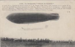 "Aviation - Dirigeable ""Ville De Nancy"" - 1909 - Edition J. H. 1148 - Dirigibili"