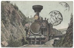 Ligne Chemin Fer Eisenbahnlinie Near Kosotur Kossotour Steam Locomotive Vapeur Anime Train Railway Zlatoust Tcheliabinsk - Eisenbahnen